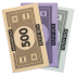 Tea Towel Monopoly Money 3pack: Image 2