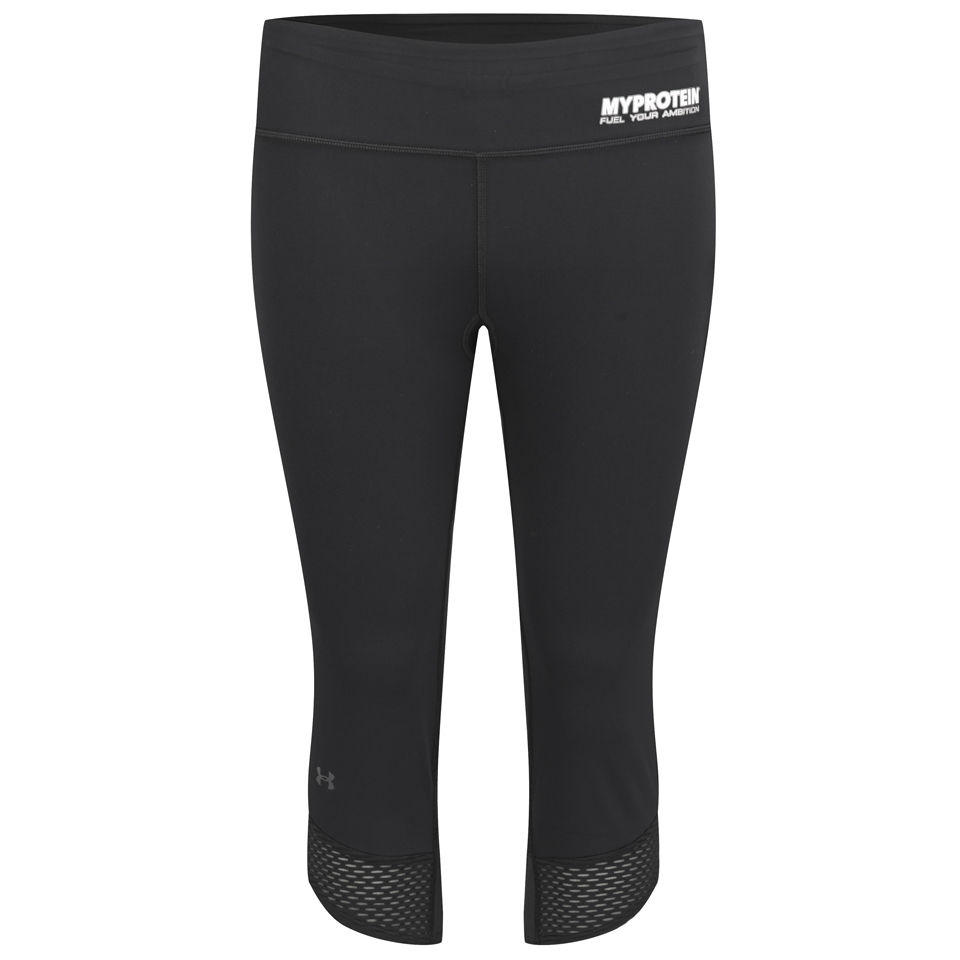 Foto Under Armour Women's Fly-By Compression Capri Leggings - Black - S Under Armour by Myprotein