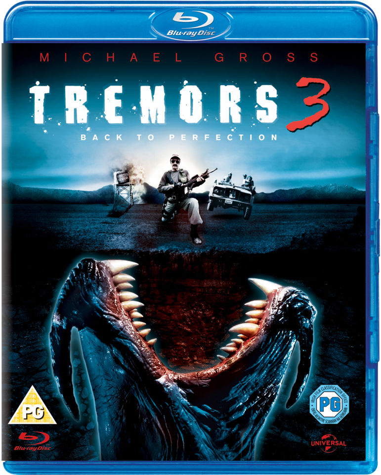Tremors 4 12: Tremors 3: Back To Perfection Blu-ray
