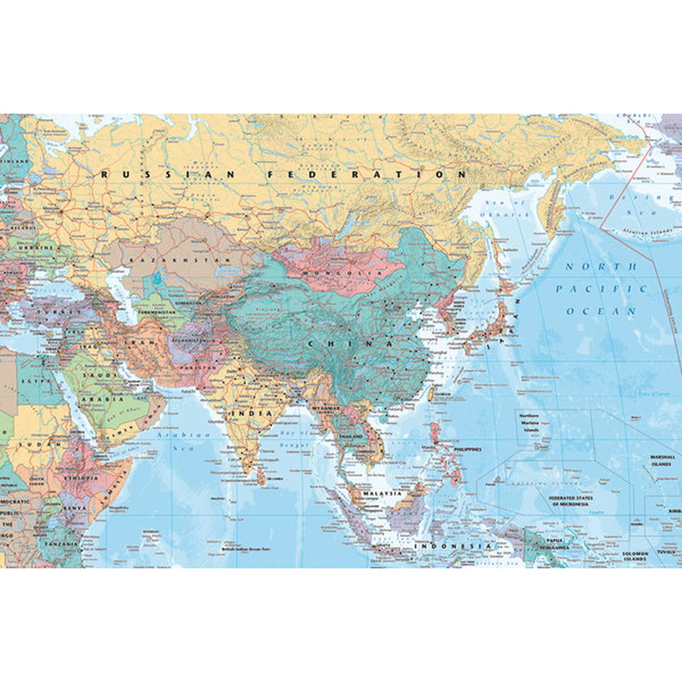 asia-middle-east-map-maxi-poster-61-x-915cm