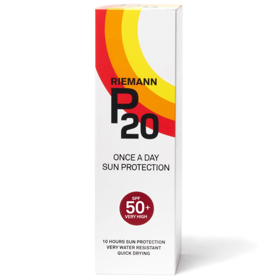 P20 Riemann Zonnebrand Factor(spf)50 Sprayflacon 100ml