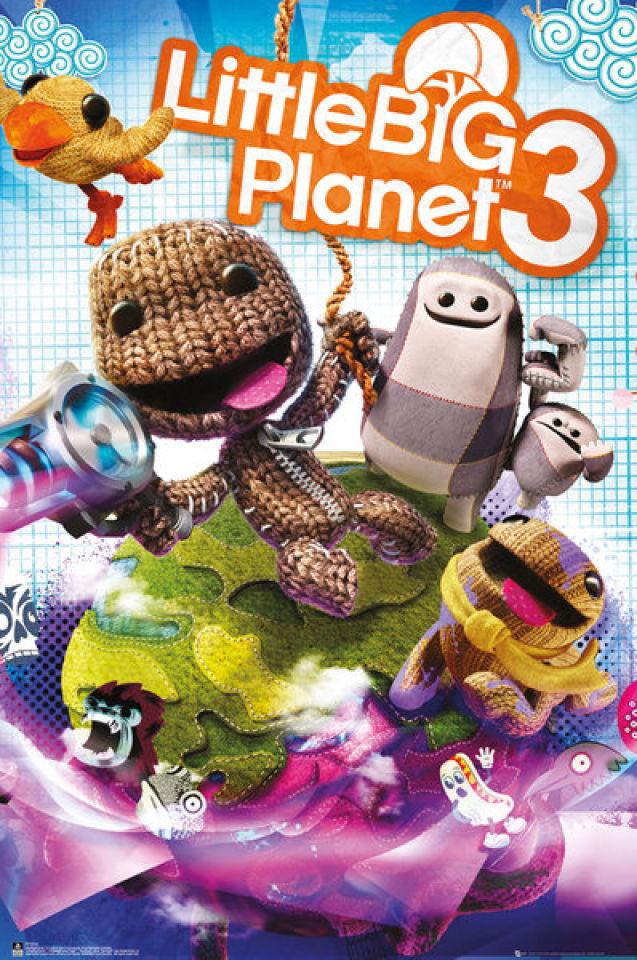 little-big-planet-3-cover-maxi-poster-61-x-915cm