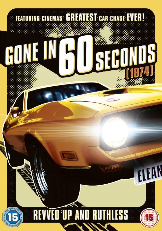 Gone In 60 Seconds 1974 Dvd Zavvi Com
