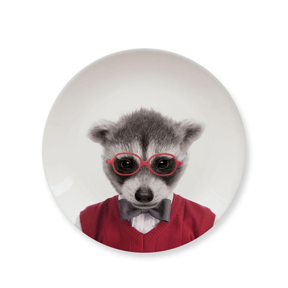 wild-dining-baby-raccoon-ceramic-side-plate