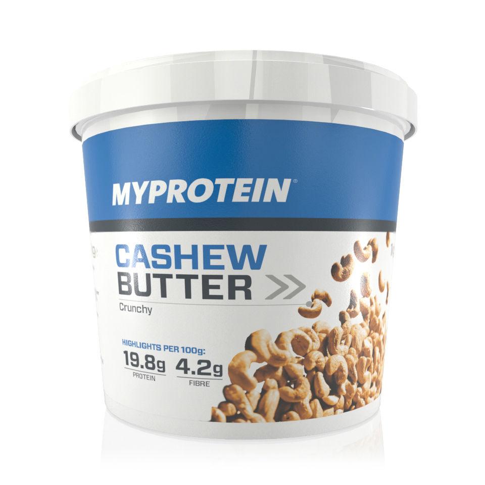 Natural Cashew Butter, Crunchy, Tub, 1kg
