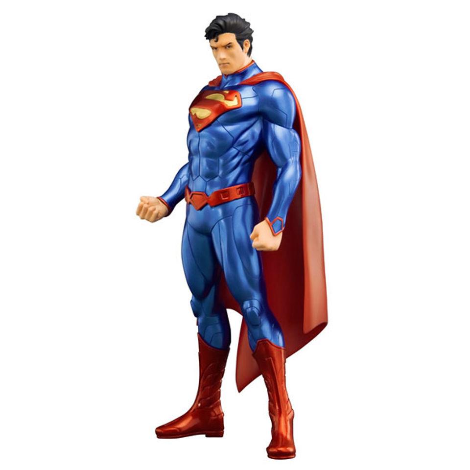 kotobukiya dc comics superman new 52 artfx statue