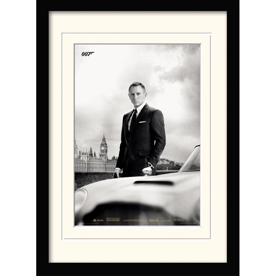 james-bond-bond-db5-skyfall-framed-mounted-print-30x40
