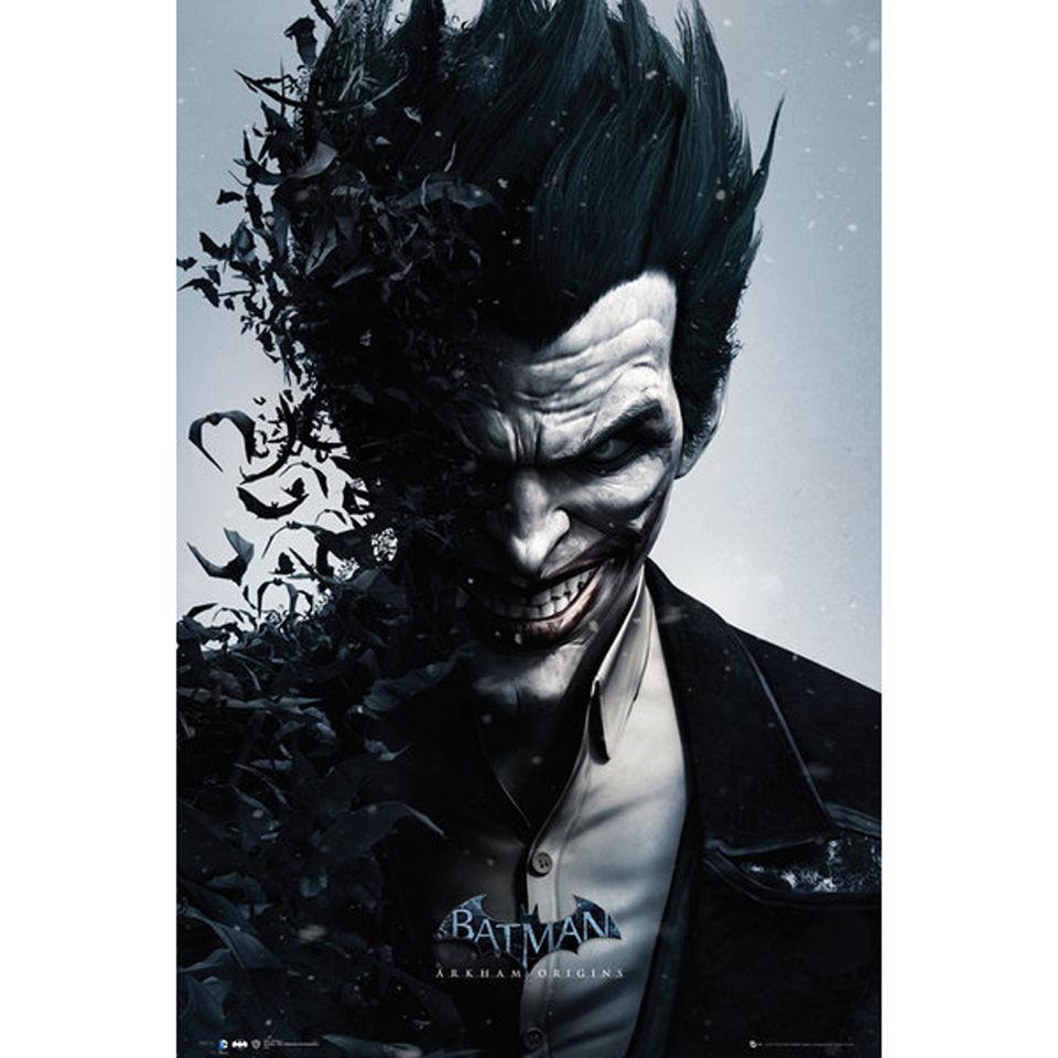 batman-arkham-origins-joker-bats-maxi-poster-61-x-915cm