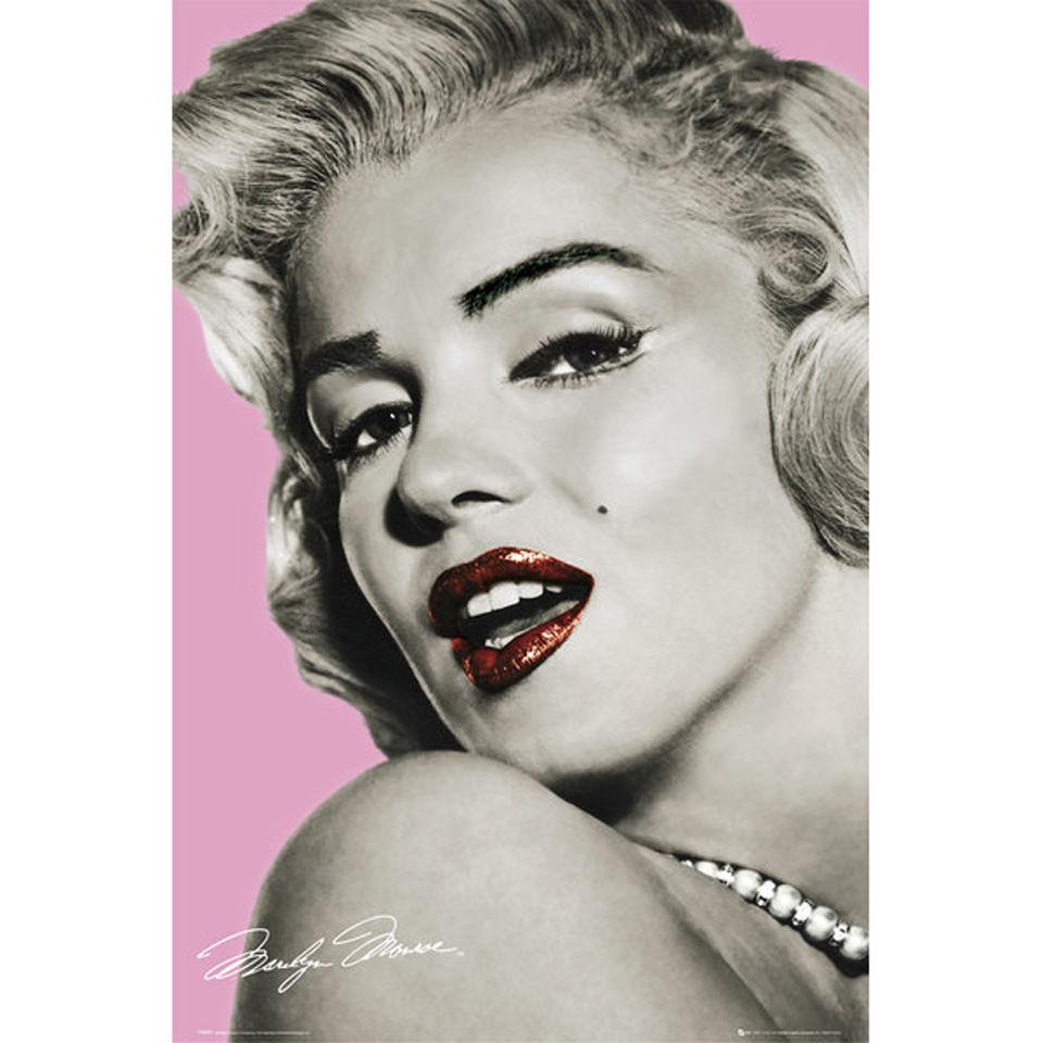marilyn-monroe-pink-lips-maxi-poster-61-x-915cm
