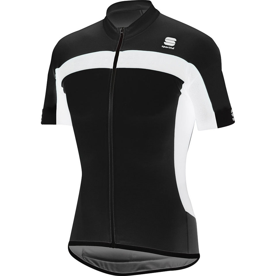 sportful-pista-short-sleeve-jersey-black-white-xl