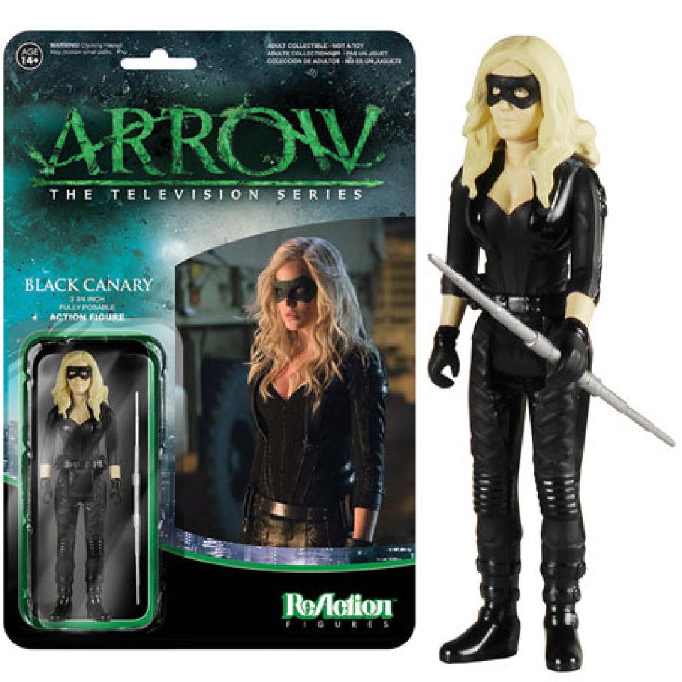 reaction-dc-comics-arrow-black-canary-3-34-inch-action-figure