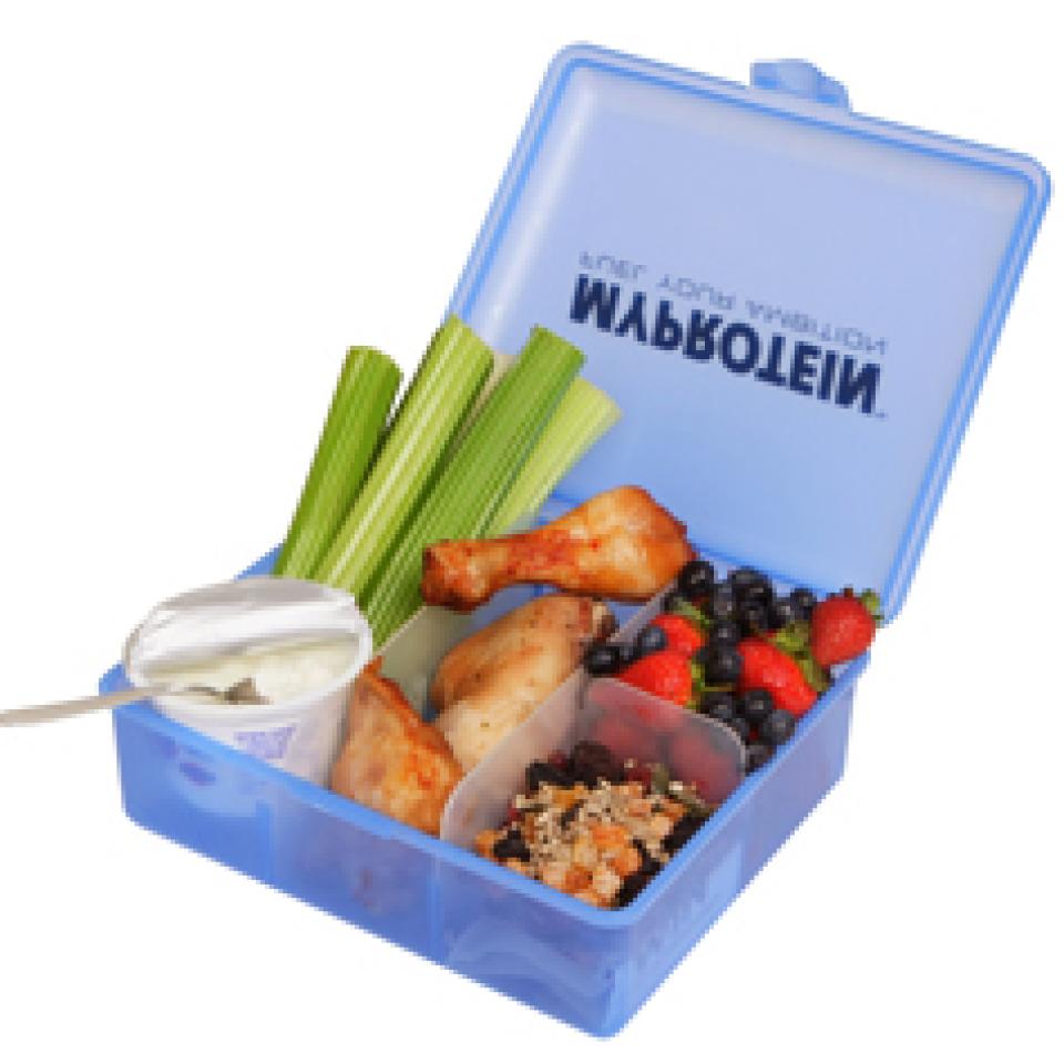 pudelko Myprotein Food KlickBox, male