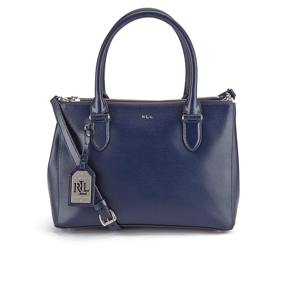 Creative Lauren Ralph Lauren Women39s Newbury Double Zip Dome Tote Bag  Black