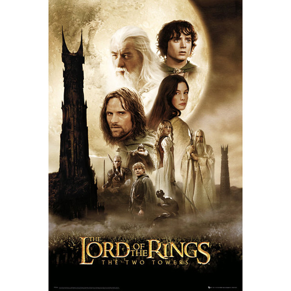 lord-of-the-rings-two-towers-one-sheet-maxi-poster-61-x-915cm