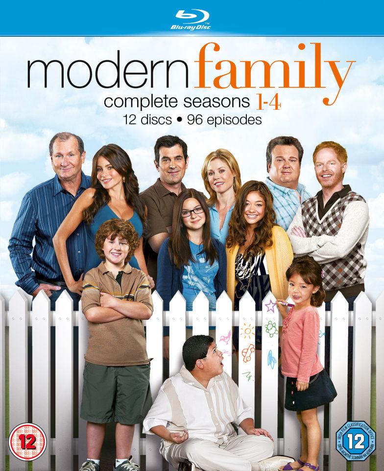 modern family seasons 1 4 zavvi