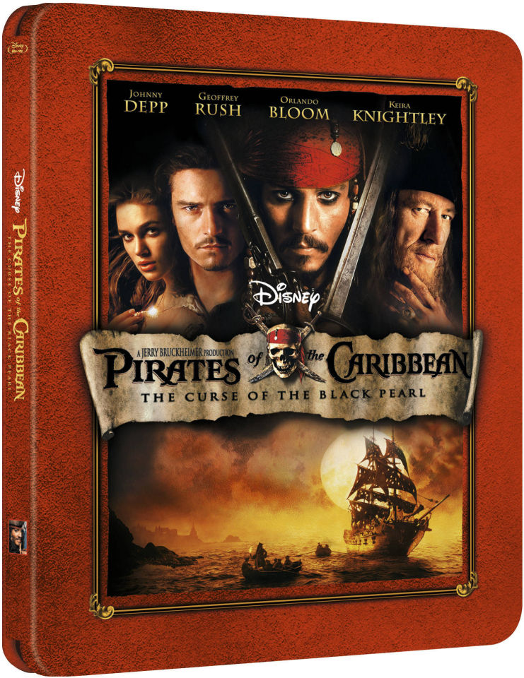 Pirates of the Caribbean: The Curse of the Black Pearl - Zavvi Exclusive Limited Edition ...