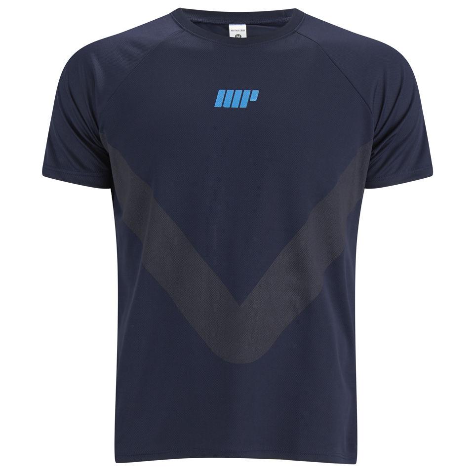Myprotein Men's Running T-Shirt - Navy, S