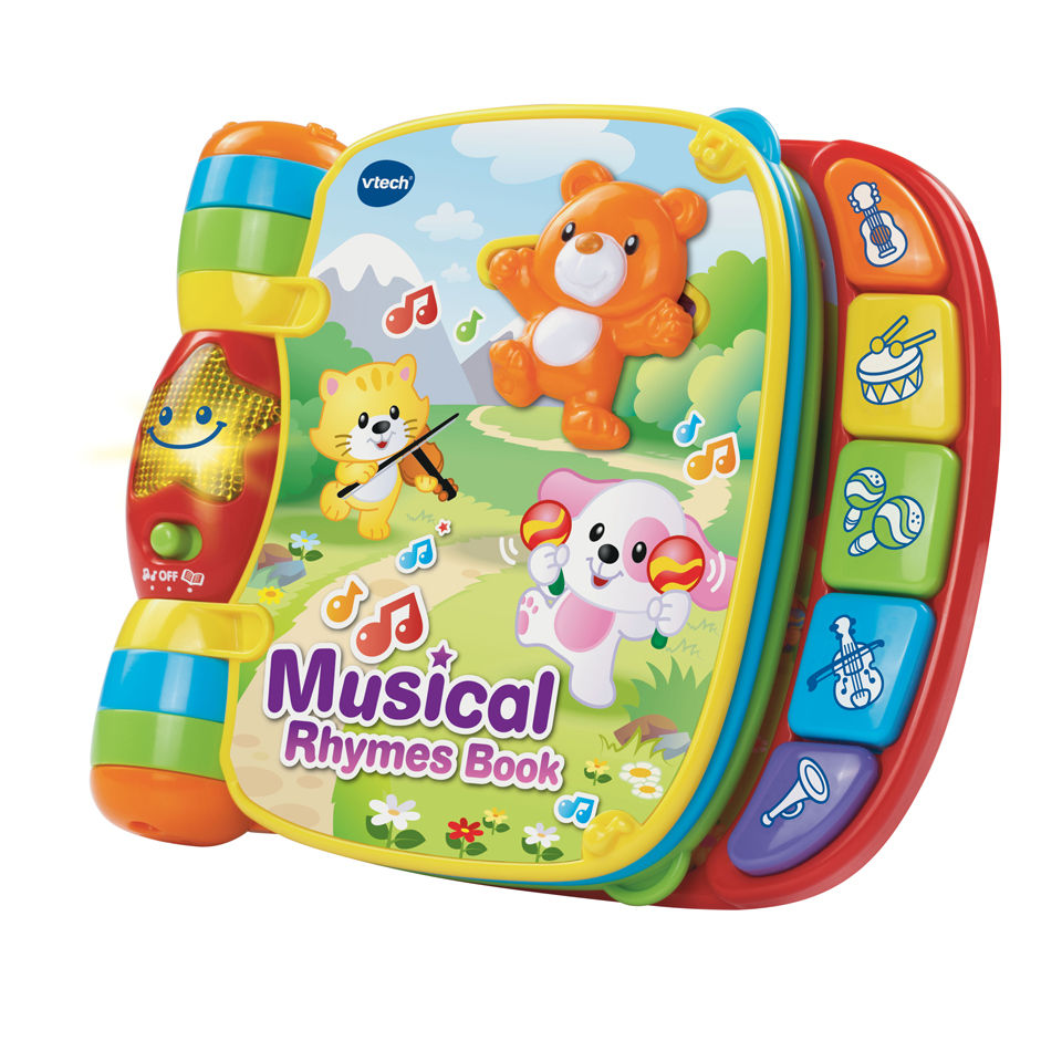 Smile Educational Toys : Vtech musical rhymes book toys thehut