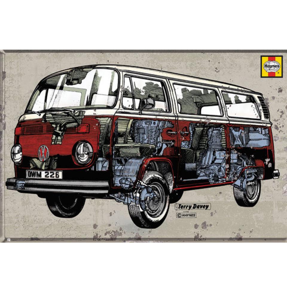 vw-camper-haynes-campervan-maxi-poster-61-x-915cm