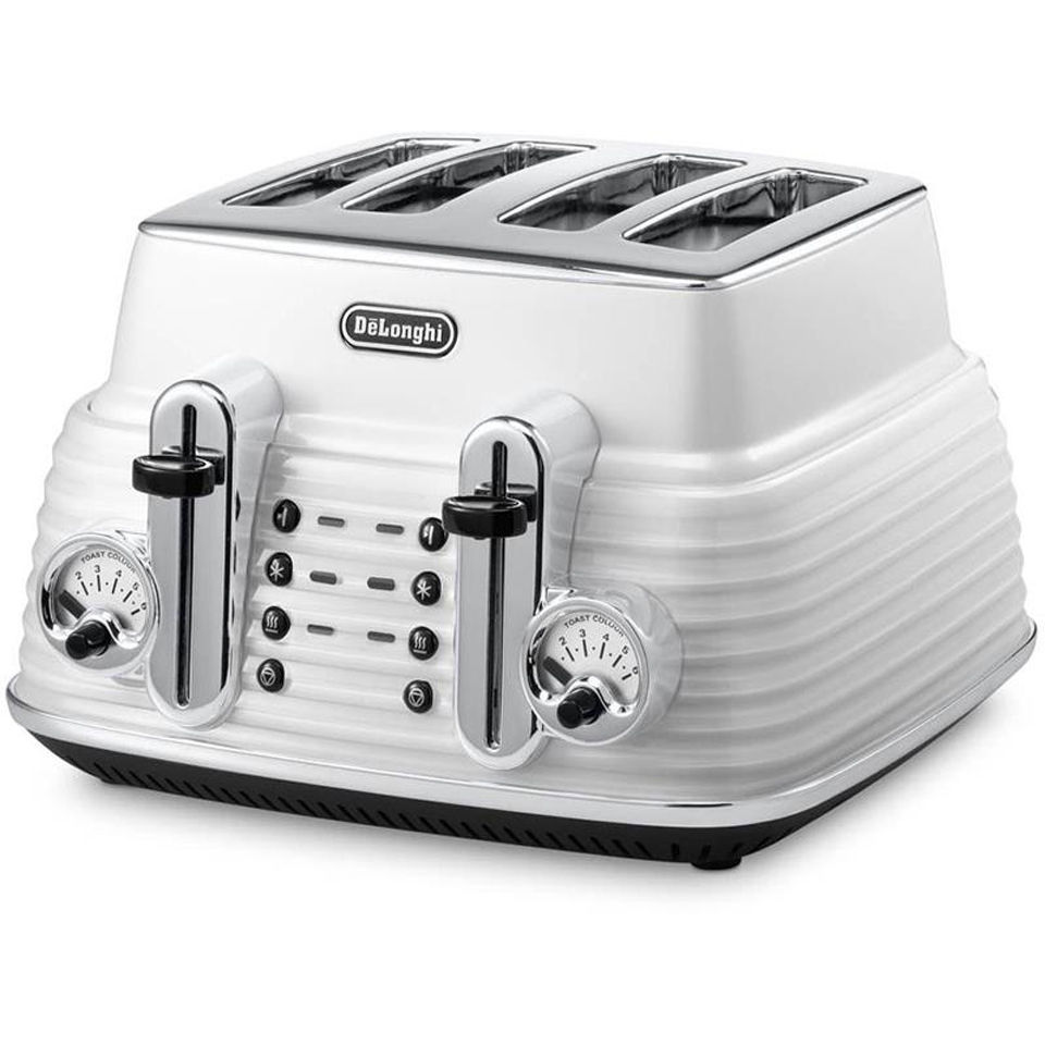 delonghi-ctz4003-scultura-4-slice-toaster-white-gloss