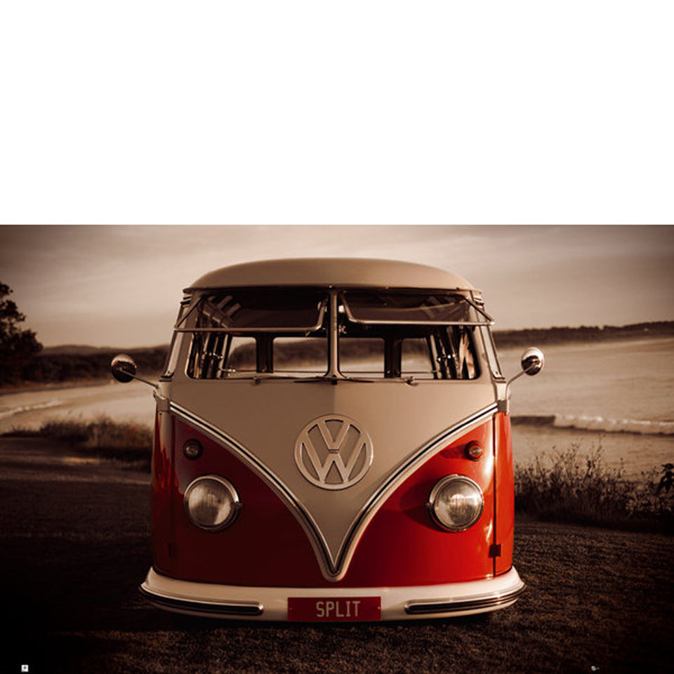vw-brendan-ray-red-kombi-maxi-poster-61-x-915cm