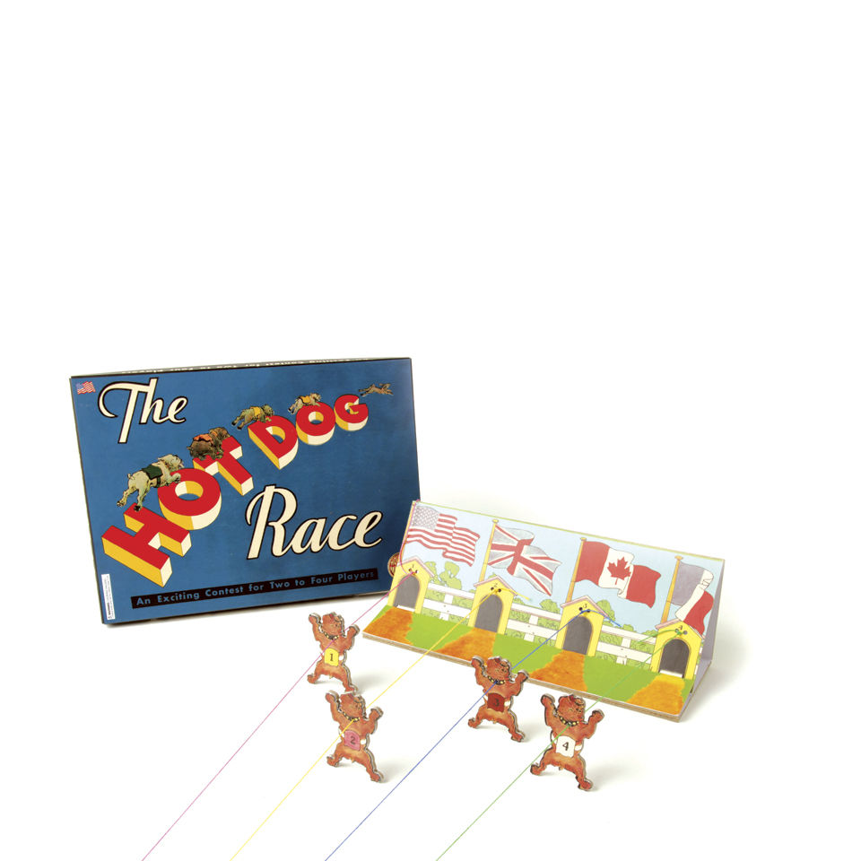 hot-dog-race-retro-board-game