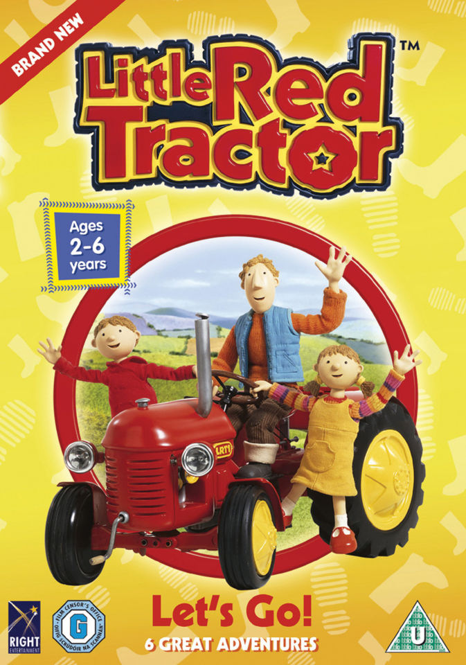 little-red-tractor-lets-go