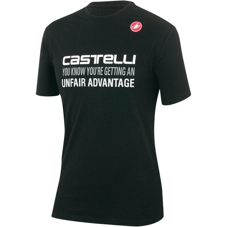 castelli-advantage-t-shirt-black-s