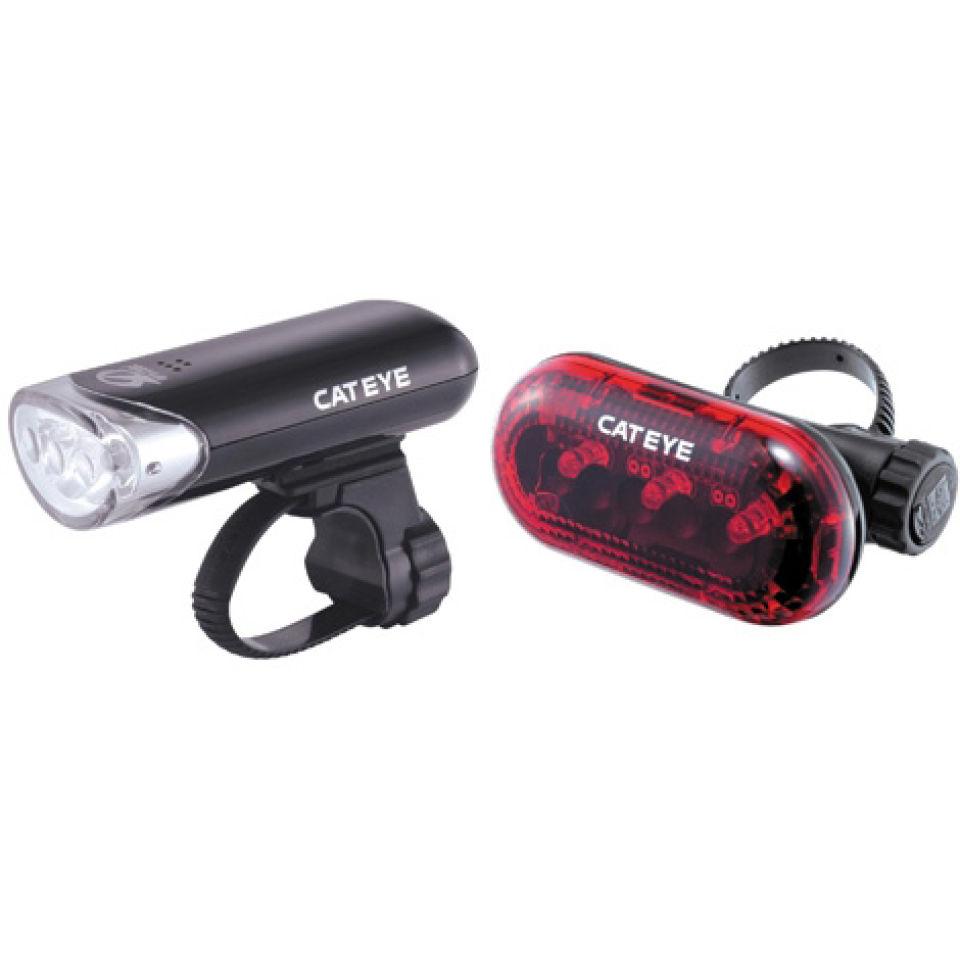 cateye-el130tl135-front-rear-light-set