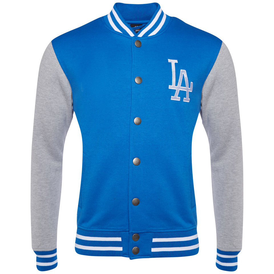 Majestic Men's LA Dodgers Houton Fleece Letterman Jacket