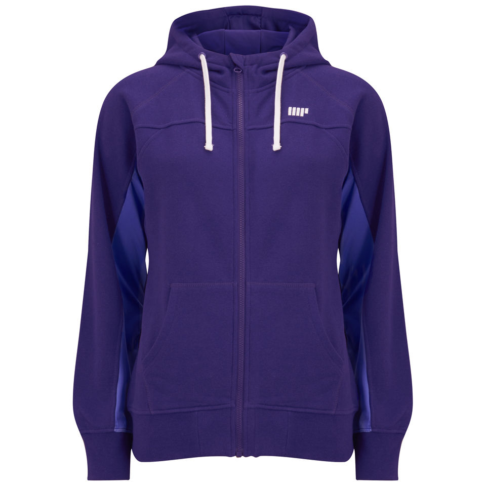 Foto Dcore Women's Performance Hoody, Purple, S, EU 34, UK 8 Myprotein