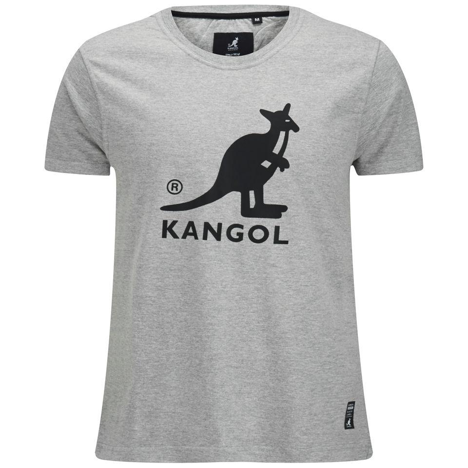 kangol-men-bando-printed-t-shirt-grey-marl-s