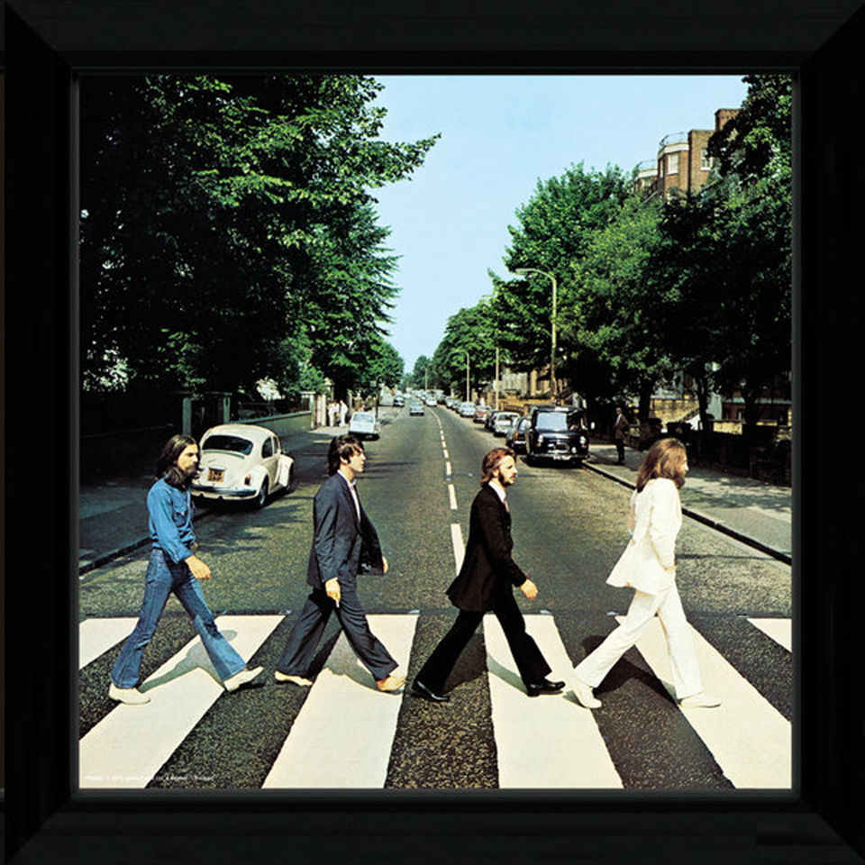 the-beatles-abbey-road-12-x-12-framed-album-prints