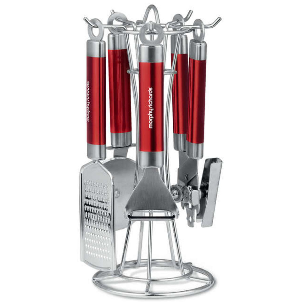 morphy-richards-46811-accents-4-piece-gadget-set-red