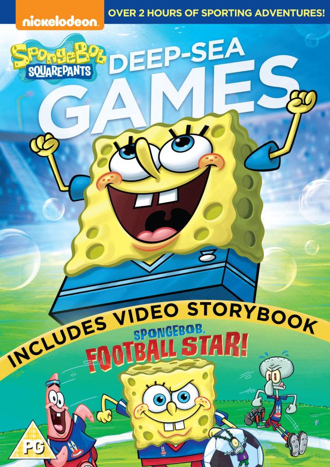 sponge-bob-square-pants-deep-sea-games-includes-sponge-bob-football-star
