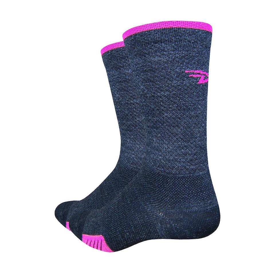 defeet-cyclismo-wool-5-inch-cuff-socks-charcol-blackpink-xl
