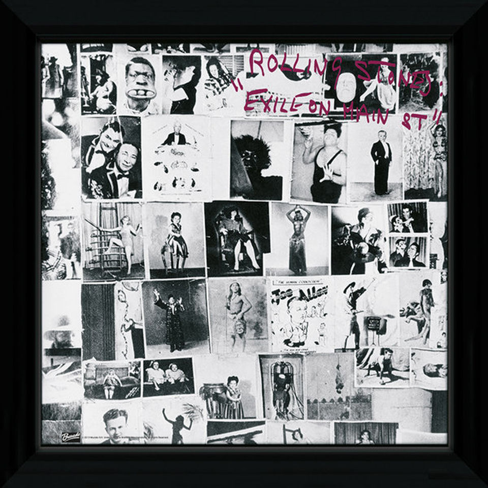 the-rolling-stones-exile-on-main-12-x-12-framed-album-prints