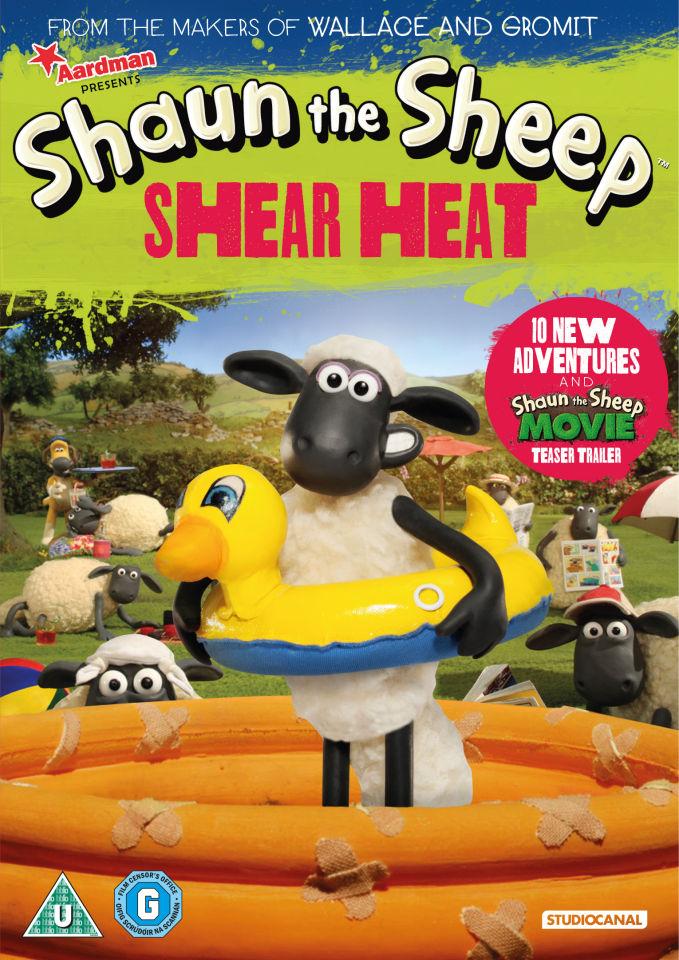 Shaun The Sheep Shear Heat Dvd Zavvi Com