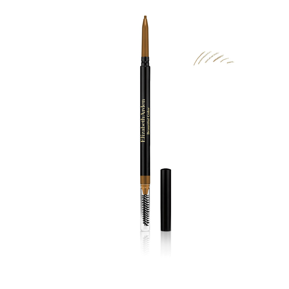 Elizabeth Arden Beautiful Colour Natural Eye Brow Pencil in Natural in Black