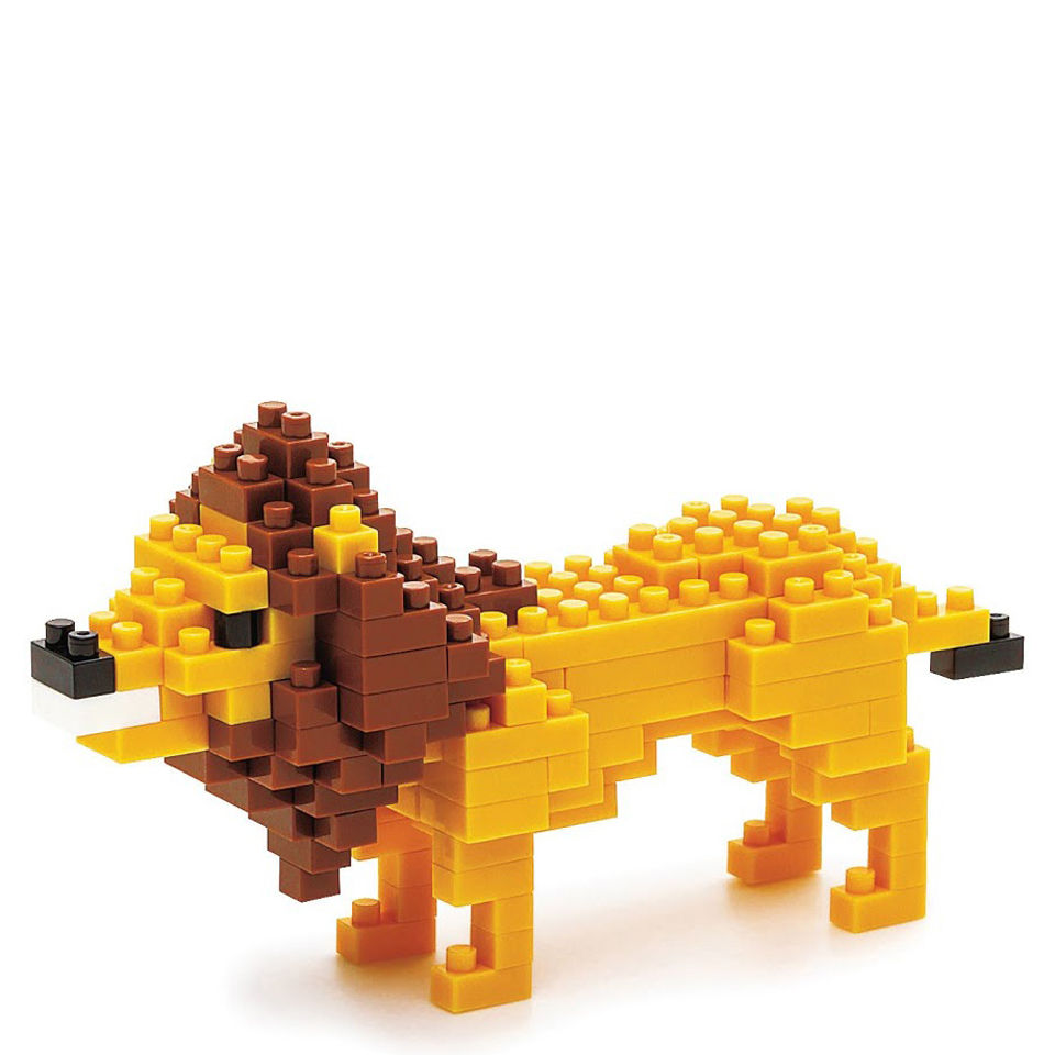 nanoblock-lion