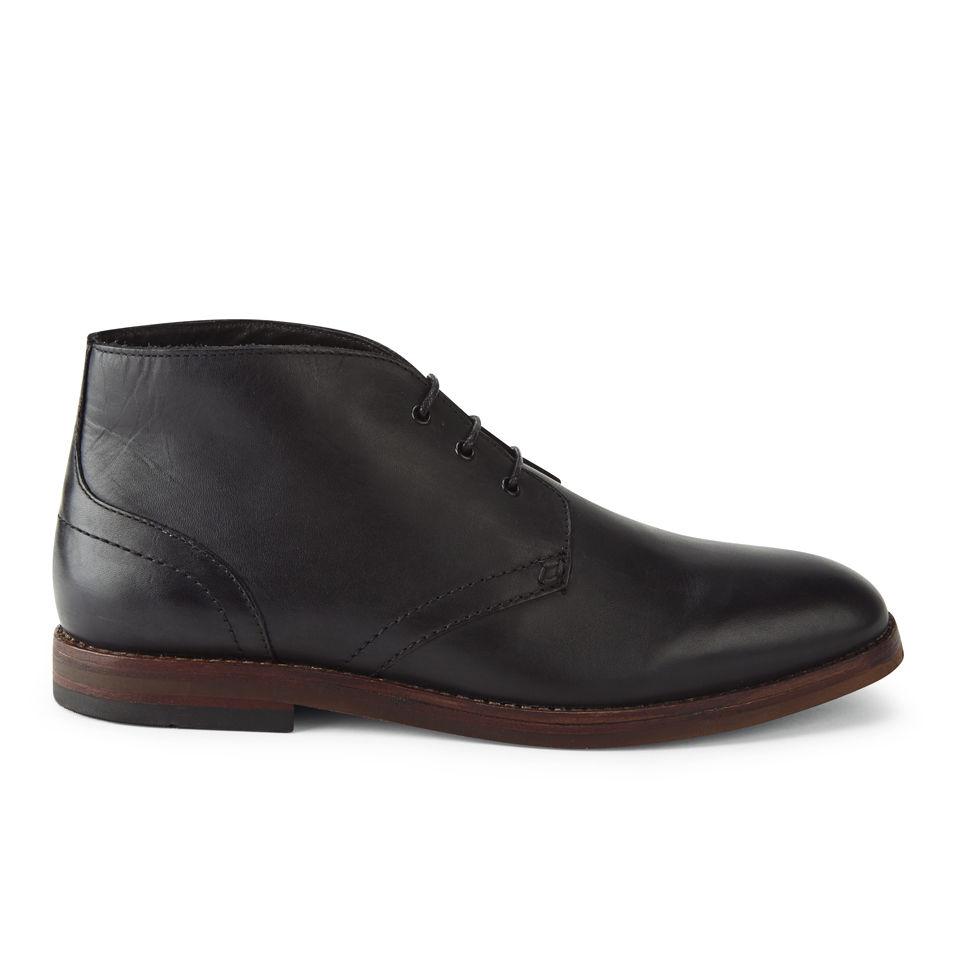 H Shoes By Hudson Mens Houghton 2 Leather Desert Chukka