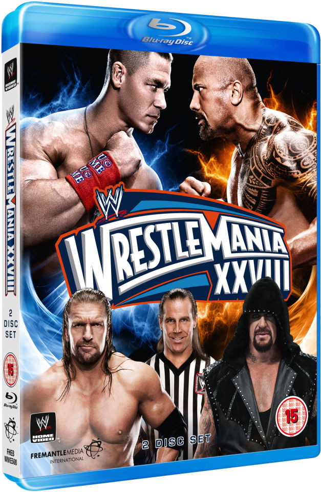 wwe wrestlemania 28 blu ray. Black Bedroom Furniture Sets. Home Design Ideas