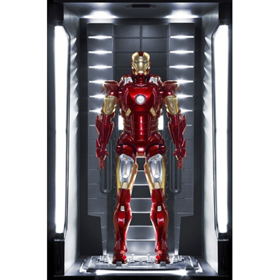 dragon-action-heroes-marvel-iron-man-mark-vii-hall-of-armour-19-scale-figure
