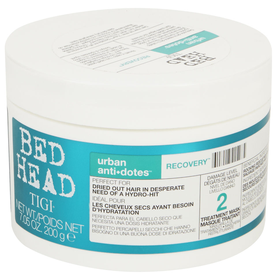 tigi bed head urban antidotes recovery treatment mask 200g free delivery. Black Bedroom Furniture Sets. Home Design Ideas