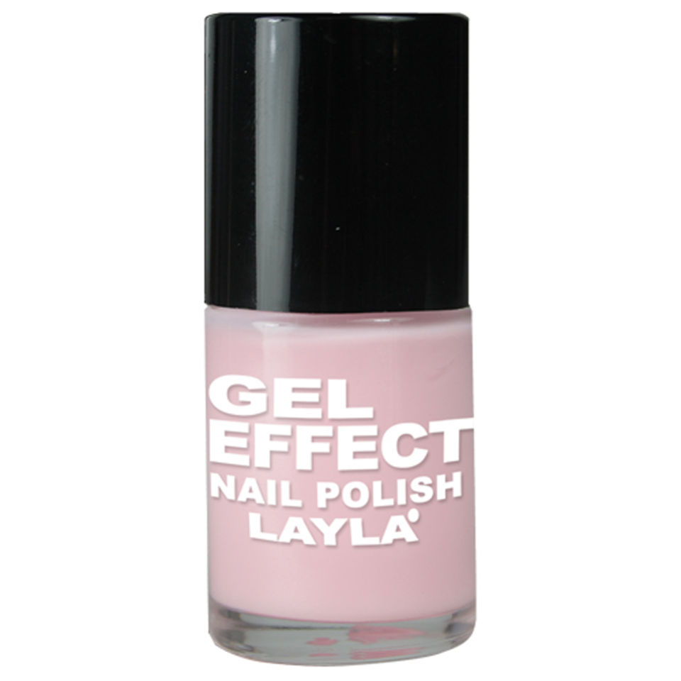 Layla Cosmetics Gel Effect Nail Polish N.02 Pinky Doll