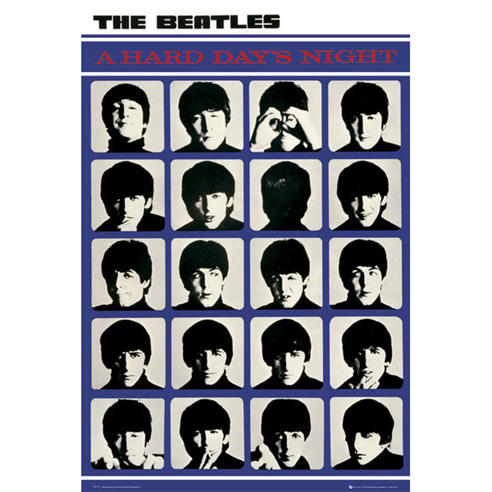 the-beatles-a-hard-day-night-maxi-poster-61-x-915cm