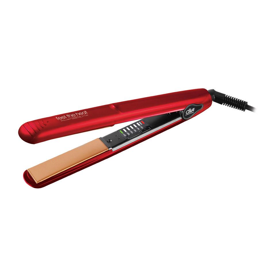diva-professional-styling-feel-the-heat-intelligent-digital-styler-chromatix-straightener-cherry-red