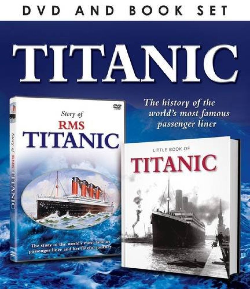 titanic-includes-book