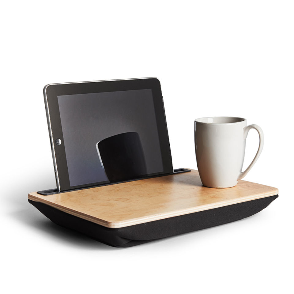 Wooden Office Gifts ~ Wood ibed lap desk iwoot