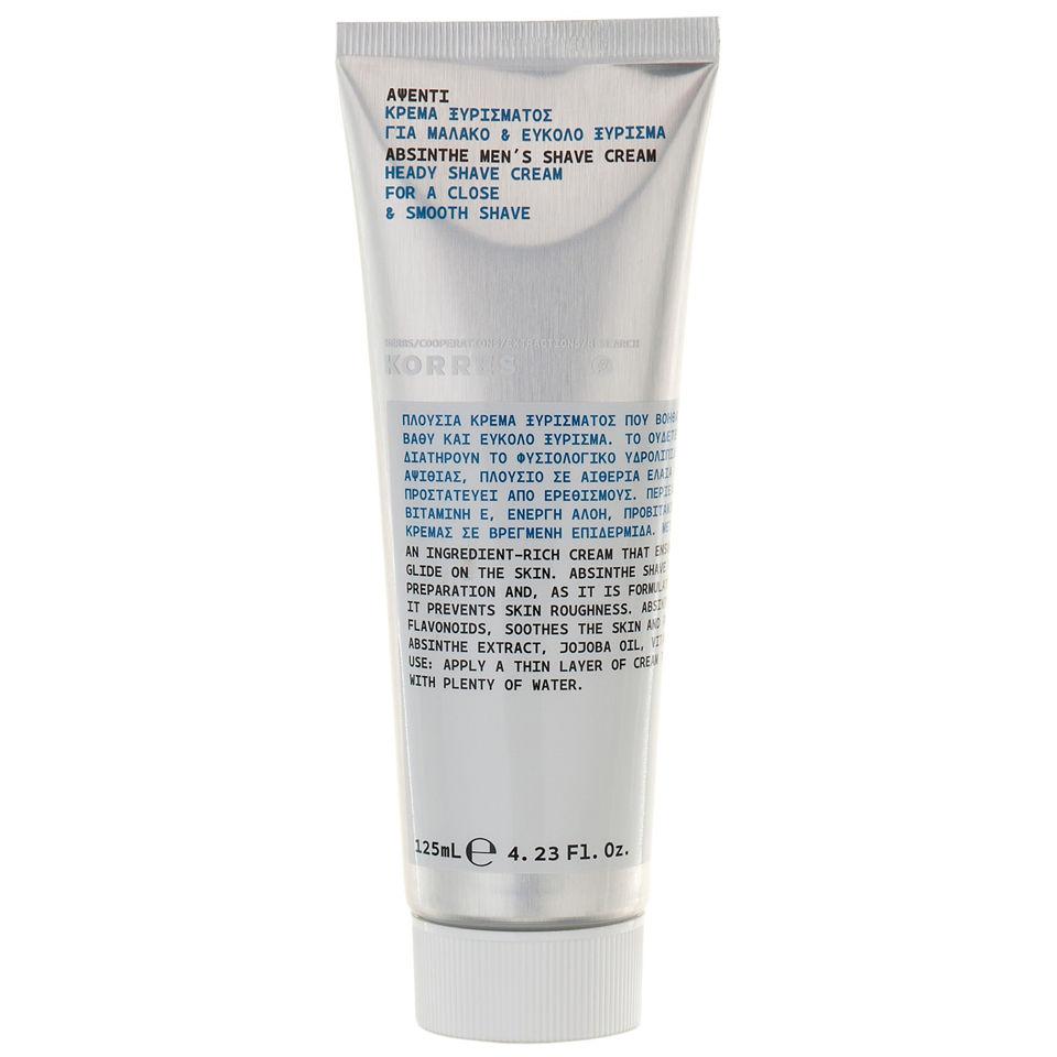 korres-absinthe-heady-shave-cream-125ml